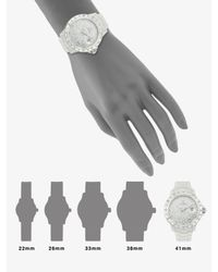 Toy Watch - Total Stones Watch/white - Lyst
