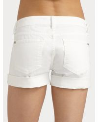 Vince | White Luce Shorts | Lyst