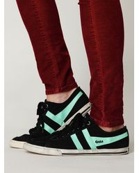 Free People | Black Retro Classic Sneaker | Lyst