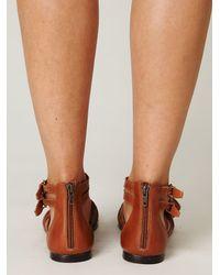 Free People | Brown Volare Gladiator Sandal | Lyst
