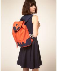 Peter Jensen - Orange Rabbit Backpack - Lyst