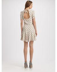 Rebecca Taylor - Natural Ikat Silk 40's Dress - Lyst