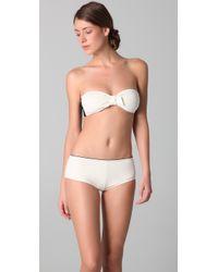 3.1 Phillip Lim - White Boy Short Bikini Bottom - Lyst