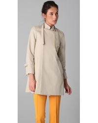 A.L.C. | Natural Tallulah Trench Coat | Lyst