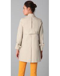 A.L.C. | Natural Tallulah Trench Coat | Lyst