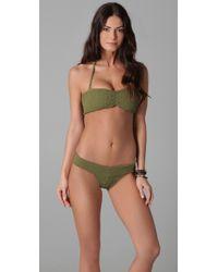 Tori Praver Swimwear   Green Imani Bikini Bottoms   Lyst