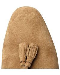 Alexander McQueen | Brown Suede Tassel Loafers for Men | Lyst