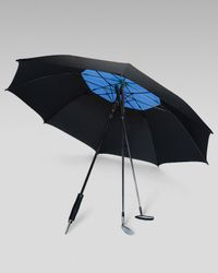 Davek | Golf Umbrella, Black/royal Blue | Lyst
