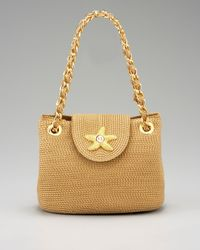 Eric Javits | Natural Mini Star Shoulder Bag | Lyst