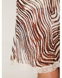 Free People - Multicolor Tiger Printed Chiffon Slip - Lyst