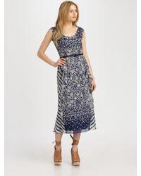 Nanette Lepore | Gray Miss California Dress | Lyst