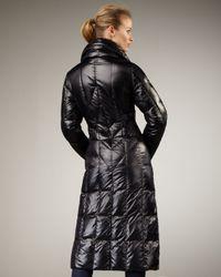 Rainforest - Black Long Puffer Coat - Lyst