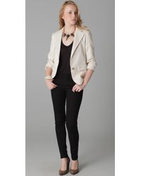 Thayer | Natural Perfect Blazer | Lyst
