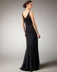 Theyskens' Theory - Black Silk Gown - Lyst