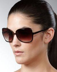 Barton Perreira | Black Serene Sunglasses, Java | Lyst
