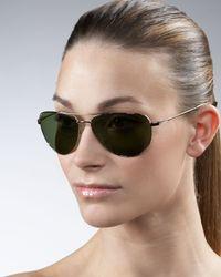 Barton Perreira - Brown Five-star Aviator Sunglasses - Lyst