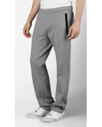 Burberry Sport | Gray Cotton Running Trousers for Men | Lyst