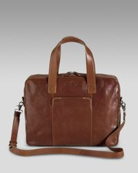 Cole Haan | Brown Merced Briefcase for Men | Lyst