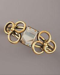 DANNIJO - Metallic Loop Bracelet - Lyst
