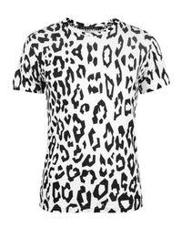 Horace | Black & White Geo Animal Print T-shirt for Men | Lyst