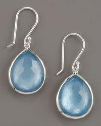 Ippolita - Blue Small Doublet Teardrop Earrings - Lyst