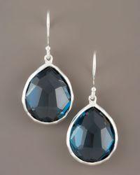 Ippolita - Blue Topaz Teardrop Earrings - Lyst