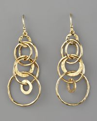 Ippolita | Metallic Glamazon Multi-link Jet-set Earrings | Lyst