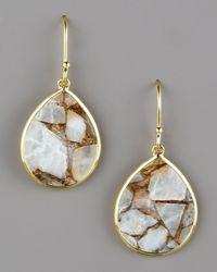 Ippolita - Metallic Small Teardrop Earrings, Calcite - Lyst