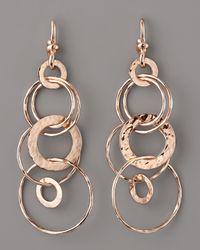 Ippolita - Pink Rose Multi-link Jet-set Earrings - Lyst