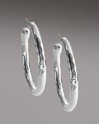 Ippolita - Metallic Glamazon Clip Hoop Earrings - Lyst