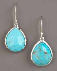 Ippolita - Blue Turquoise Teardrop Earrings - Lyst