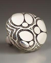 John Hardy | Metallic Kali Taman Zen Cushion Ring | Lyst