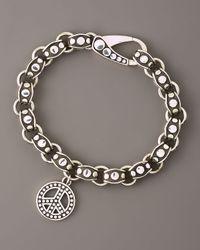 John Hardy | Metallic Peace-charm Dot Bracelet | Lyst