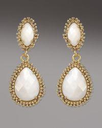 Kendra Scott - Metallic Kelli Earrings, Mother-of-pearl - Lyst