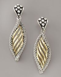 Lagos - Metallic Interlude Twist Earrings - Lyst