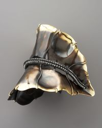 Lanvin | Metallic Leaf Bracelet | Lyst