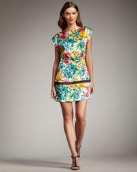 Marc By Marc Jacobs | Multicolor Havana Floral Dress | Lyst