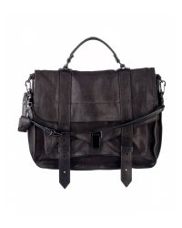 Proenza Schouler | Black Ps1 Large Leather | Lyst