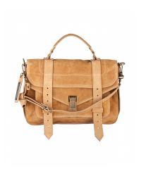 Proenza Schouler | Brown Medium Suede Ps1 Bag | Lyst