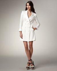 Rachel Zoe   White Cameron Tuxedo Dress   Lyst