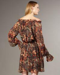 Rachel Zoe - Multicolor Frankie Peasant Dress - Lyst