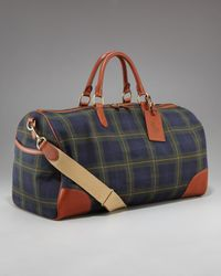 Ralph Lauren | Multicolor Rl Tartan Collection Plaid Duffel Bag for Men | Lyst