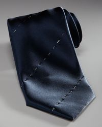 Stefano Ricci | Blue Crystal-stripe Tie, Navy for Men | Lyst