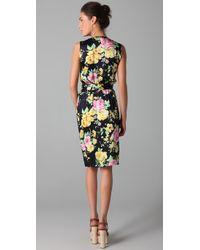 Thayer | Multicolor Go Deep Printed Dress | Lyst