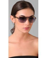 3.1 Phillip Lim | Brown Malibu Sunglasses | Lyst