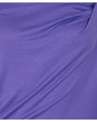 Vivienne Westwood Anglomania - Purple Donna Draped Dress - Lyst