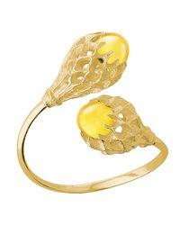 Baccarat - Metallic Merveille Gold Vermeil You & Me Bracelet - Lyst