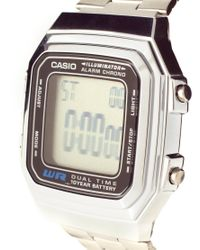 G-Shock | Metallic Digital Watch | Lyst