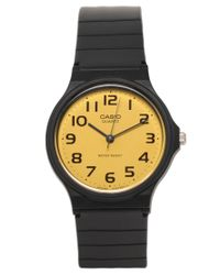 G-Shock - Yellow Dial Black Strap Watch - Lyst
