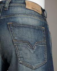 DIESEL - Blue Larkee 880k Relaxed Jeans for Men - Lyst